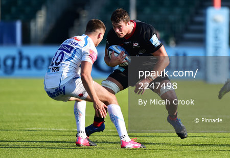 Saracens v Exeter Chiefs, London, UK - 13 Sep 2020