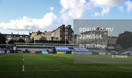 Bath Rugby v Worcester Warriors, Bath, UK - 9 Sept 2020