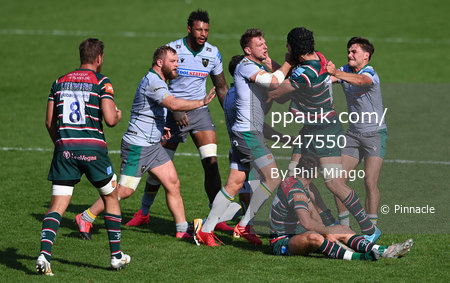 Leicester Tigers v Northampton Saints, Leicester, UK - 13 Sep 2020