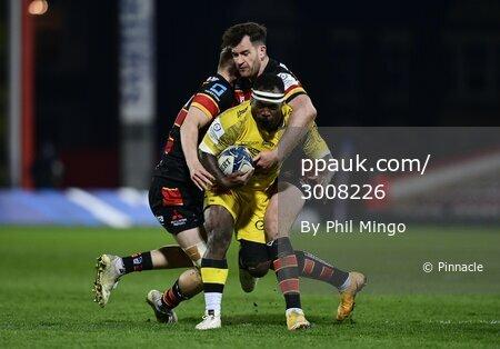 Gloucester Rugby v La Rochelle, Gloucester, UK -  2 Apr 2021