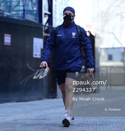 London Irish v Cardiff Blues, London, UK - 02 April 2021