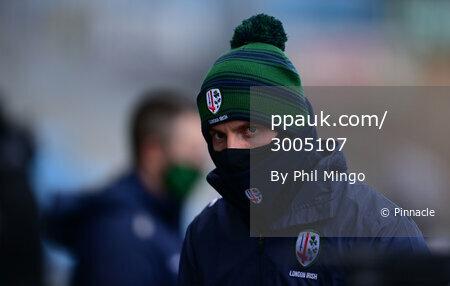 Exeter Chiefs v London Irish, Exeter, UK - 13 Feb 2021