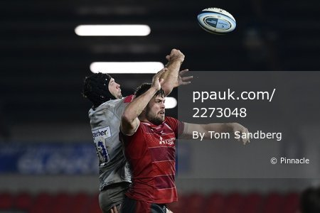 Gloucester Rugby v Sale Sharks, Gloucester, UK -  2 Jan 2021