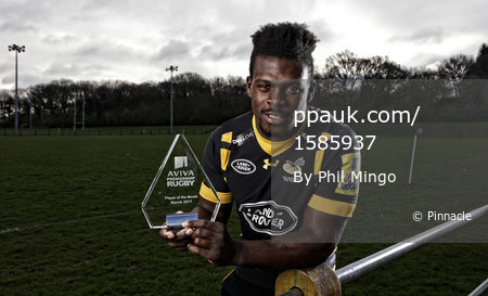 Aviva POTM - Wasps, Coventry - UK - 4 Apr 2017