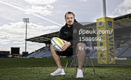 Exeter Chiefs Press Call, Exeter, UK - Apr 5 2017