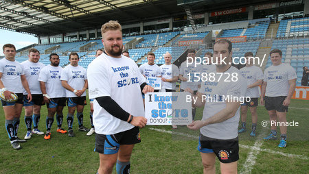 "Exeter Chiefs ""Know the Score"", Exeter, UK - Apr 5 2017"