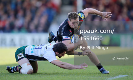 Exeter Chiefs v Northampton Saints, Exeter, UK - 29 Apr 2017