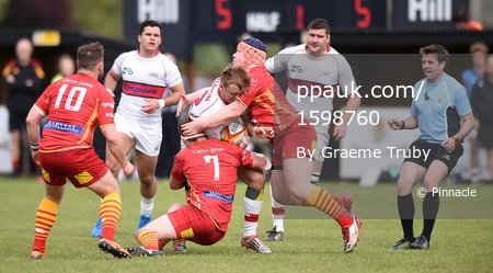 Cambridge v Plymouth Albion, Cambridge, UK - 29 Apr 2017