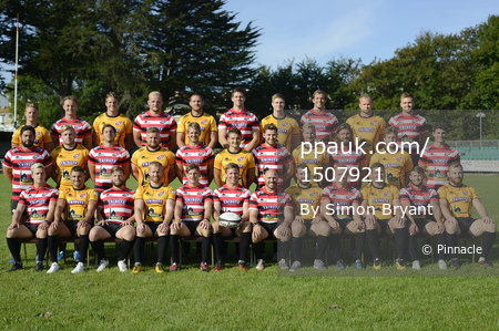 Cornish Pirates Team Photos, Penzance, UK - 28 August 2017