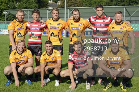 Cornish Pirates Team Photos, Penzance, UK - 28 August 2017