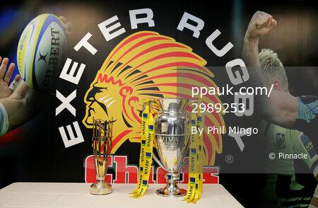 Gareth Steensons Chiefs XV v The Classic Lions XV, Exeter, UK -