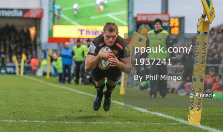 Exeter Chiefs v Bath, Exeter, UK - 2 Dec 2017