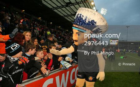 Exeter Chiefs v Bath, Exeter, UK - 2 Dec 2017
