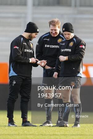 Exeter Chiefs Training, Exeter, UK 28 Dec 2017