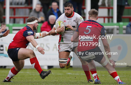 Plymouth Albion v Hull Ionians, Plymouth, UK - 2 Dec 2017