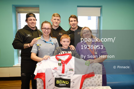 Plymouth Albion Childrens Hospital Visit, Plymouth,-UK-05 Dec 2017