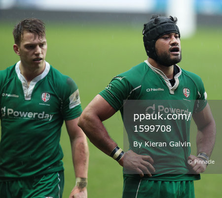 London Irish v London Scottish, Reading UK - 25 Feb 2017