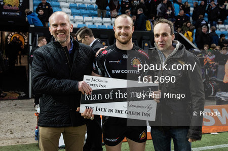 Exeter Chiefs v Newcastle Falcons, Exeter, UK - Feb 25 2017