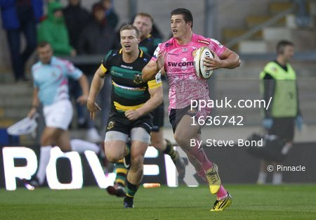 Exeter Chiefs v Northampton Saints, Northampton, UK -July 28 2017