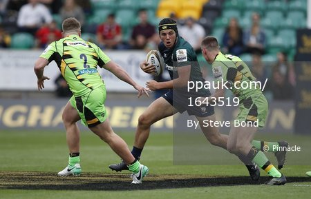 London Irish  v Northampton Saints, Northampton, UK -July 29 2017