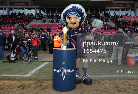 Exeter Chiefs v Leicester Tigers, Twickenham, UK - 19 Mar 2017