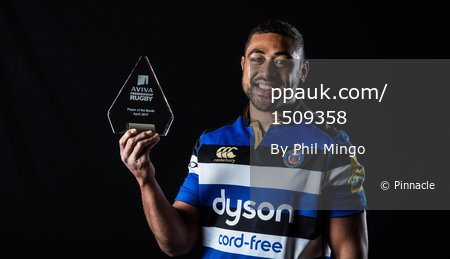 Aviva Player of the Month - Bath Rugby, Bath, UK - 9 May 2017