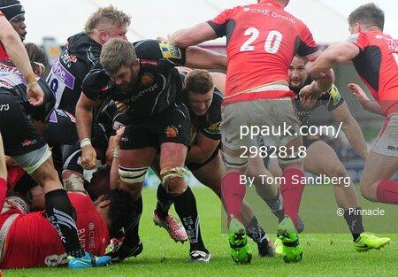 Exeter Chiefs v Saracens, Exeter, UK - 20 May 2017