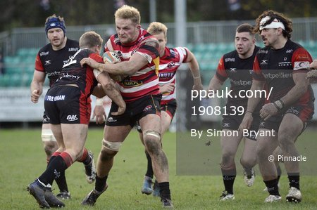 Cornish Pirates v Hartpury College, Penzance UK - 12 November 20