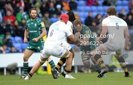 London Irish v Wasps, Reading, UK - 26 Nov 2017