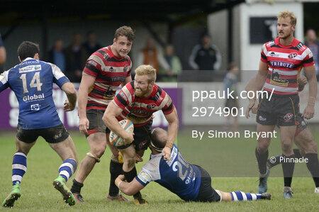 Cornish Pirates v Nottingham Rugby, Penzance UK - 08 October 201