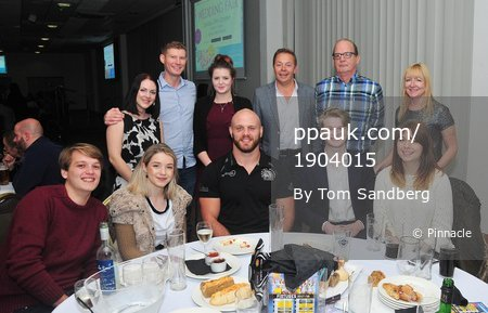 Exeter Chiefs Sponsors Night, Exeter, UK - 4 Oct 2017