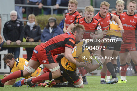 Hartpury College v Cornish Pirates, Hartpury UK - 14 October 201