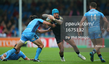 Exeter Chiefs v London Irish, Exeter, UK - 9 Sept 2017