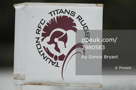 Taunton Titans v Redruth, Taunton UK - 30 September 2017