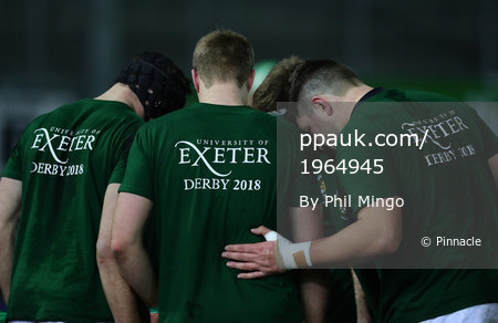 Exeter University v Bath University, Exeter, UK - Feb 14 2018