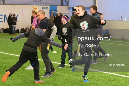 London Irish v Worcester Warriors, Reading, UK - 25 Feb 2018