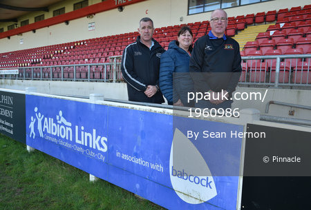Plymouth Albion Academy Photocall, Plymouth, UK-01 Febuary 2018