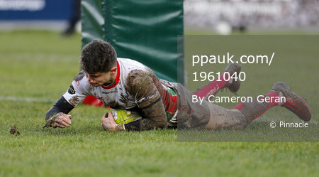 Plymouth Albion v Caldy, Plymouth, UK - 3 Feb 2018