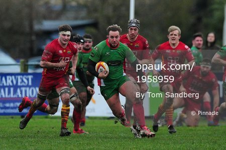 Cambridge v Plymouth Albion, Cambridge, UK - 27 Jan 2018