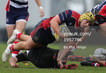 Exeter Chiefs U18s v Bristol Academy U18s, Exeter, UK - 21 Jan 2