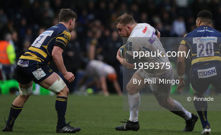 Worcester Warriors and Exeter Chiefs, Worcester, UK - Jan 27 201