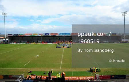 Exeter Chiefs v Saracens, Exeter, UK - 4 Mar 2018
