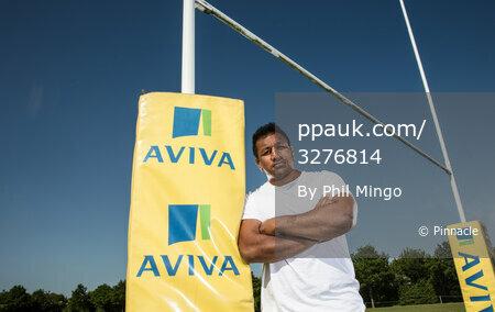 Aviva Premiership Final preview, - Saracens St Albans, UK - Apr 22 2018