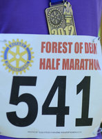 Forest of Dean Half Marathon 010412