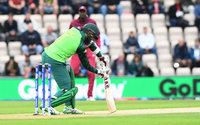 South Africa v West Indies, Southampton, UK - 10 Jun 2019