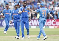 Bangladesh v India , Birmingham, UK - 02 July 2019