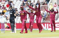 West Indies v New Zealand, Manchester, UK - 22 June 2019