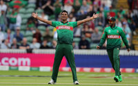 West Indies v Bangladesh, Taunton, UK - 17 Jun 2019