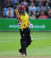 Somerset v Middlesex , Taunton, UK - 23 July 2017