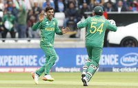 India  v Pakistan, Edgbaston, UK - 4 Jun 2017